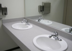 Bell Plumbing - Sinks installed in City Hall
