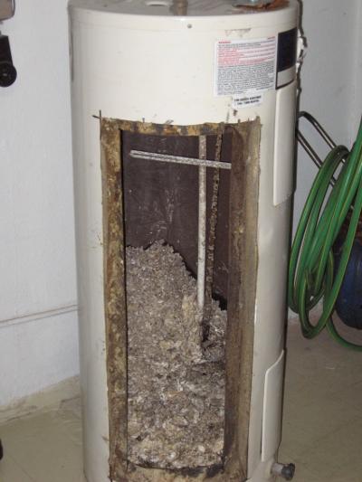 nasty water heater