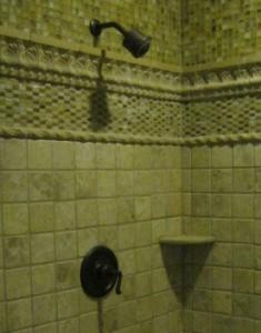 Bell Plumbing Remodeled Shower